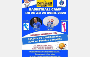 Camp Basket pendant vacances de printemps
